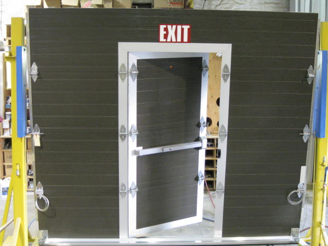 Commercial Pass Through Doors